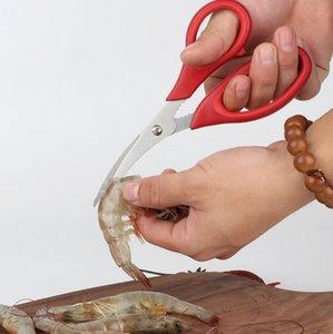 Popular Lobster Crab Seafood Scissors Shrimp Shears Snip Shells Kitchen Tool Multi Purpose Scissors Free Shipping