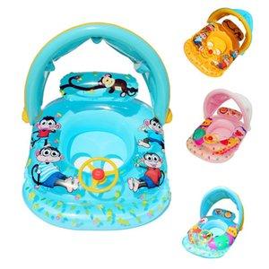 Solide Nein Schlauchboot Sicherheit für Zubehör Baby-Schwimmen-Ring Schwimm Floats Swimming-Pool-Spielzeug Badewanne Pools Swim Trainer