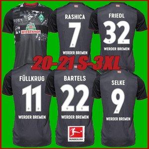 size s-3xl 20 21 SV Werder Bremen city Soccer Jerseys 2020 2021 FRIEDL KLAASSEN SELKE RASHICA BARTELS Werder Bremen home Football shirts