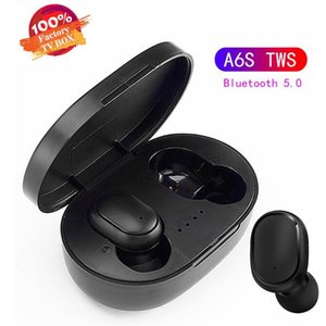 Best seller A6S TWS Wireless Earphones Bluetooth V5.0 With Touch Control Headphones Bluetooth Headset with Mic pk i12 i11 i9s i88 i10