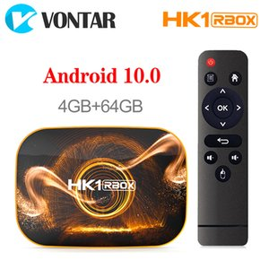 HK1 RBOX R1 TV Box Android 10 4GB 32GB 64GB Rockchip RK3318 USB3.0 Smart TV Set Top TV Box