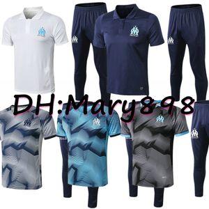 Best quality Marseille Soccer Wear Olympique De Marseille Camisa De Futebol Payet Radonjic Sanson Thauvin GERMAIN occer Sets Tracksuits kits