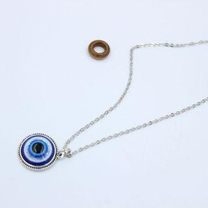 Турецкий Символ Зла Голубые Глаза Кулон Ожерелье Из Бисера Смола Ожерелье Женщины Мужчины Назар Турция Арабский Исламский Lucky Charm Gift S205