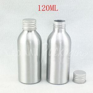 120ML Empty Aluminum Bottle , 120CC Empty Cosmetic Container , Makeup Sub-bottling , Toner Packaging Bottle