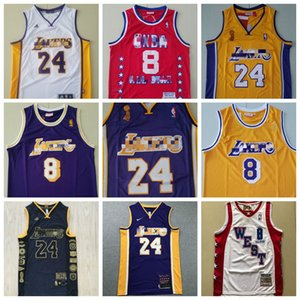 2018 HOT SALE New Season Authentic LAK Running Basketball K B Los Angeles state Men and youth Laker Jersey