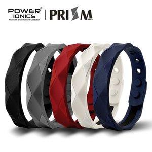 Puissance Ionics Prisme 2000 Ions Titane Germanium Bracelet Bracelet Équilibre Équilibre Énergétique Corps Humain V191212