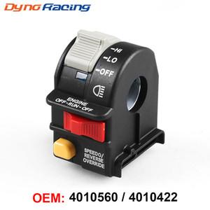 Motorcycle Switch ATV Handlebar Far And Near Light Kill Stop Switch For Polaris Sportsman Magnum 01-05 4010560 4010422 4010591