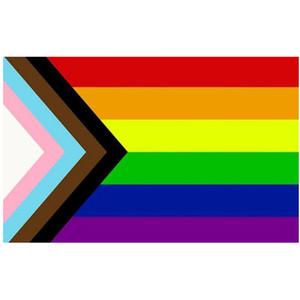 Дешевые Aerlxemrbrae радужный флаг 3x5 футов флаг баннер ЛГБТ-гордости Знамя полиэфира украшения рекламы, Бесплатная доставка