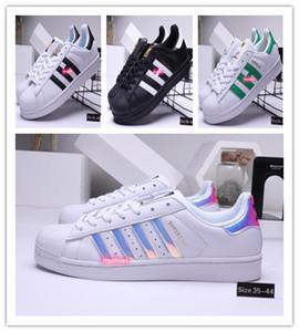 2020 Adidas Superstar Free Shipping White Black Pink Blue Gold Superstars 80s Pride Shoes Super Star Women Men Sport Casual Shoes EU SZ36-45