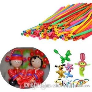 httoy 100p forma allungata Twisting Magico Balloons Christmas Party di compleanno palloncini decorazione lattice Baloon per i bambini Forniture fai da te Toy 260Q