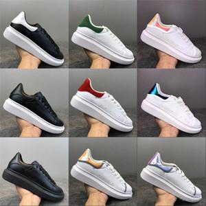 2019 Velours Noir Unie Couleurs Formateur Hommes Femmes Occasionnels chaussures Belle Plateforme De Luxe Designers Casual Sneakers Chaussures En Cuir