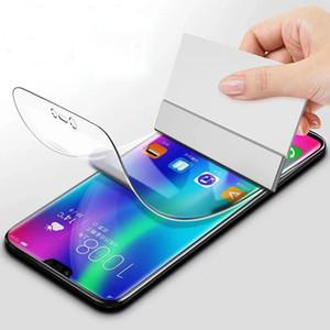 Hydrogel Film For Samsung Galaxy M10 M20 M30s M40 S20 S9 S10 Plus Screen Protector Clear Full Cover TPU Film Included Scraper Card