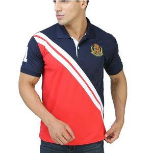 Camisa de polo para hombre Sport camiseta sólida para los hombres Golf de manga corta Tops Tees Trainning ejercicio jerseys senderismo camisas
