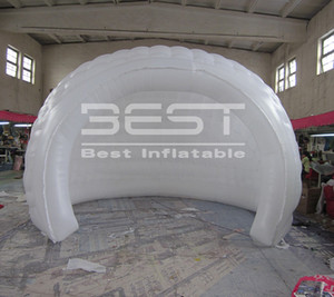 White igloo inflatable tent, Most popular inflatable turtle shell tent Night air dome double tent inflatable, inflatable dome tent for event