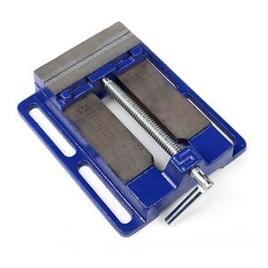 Mini multifonctions Table de travail Perceuse Fraiseuse Stent 3''Parallel mâchoire Vice Drill Press Vise table de travail pour le travail du bois