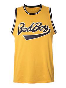 ABD'den gemi Biggie Smalls # 72 Kötü Erkek Norious Büyük Film Erkekler Basketbol Forması Tüm Dikişli S-3XL Yüksek Kalite