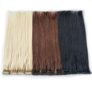 새로운 제품 사용자 정의 색상 6D 헤어 익스텐션 빠른 사전 보세 헤어 하이 엔드 연결 기술 100 % 레미 인간의 머리카락 빠른 착용에 대한