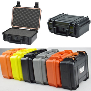 proof Camera Safety Box ABS Sealed Waterproof Hard Boxes Equipment Case with Foam Vehicle Toolbox Impact Resistant Suitcase