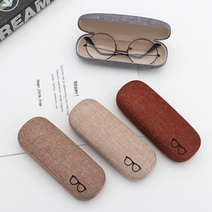 1Pcs 2019 New Fashion Men Women Kids Leather Eye Glasses Hard Shell Protector Reading Eyewear Case Portable Sunglasses Box Case mtAfF