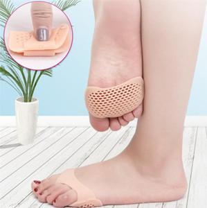 tipo manica avampiede pad dell'avampiede formato mezzo pattini tallone casa contro piede slittamento silicone pad dell'avampiede pad sottopiede 6033