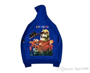 New tide brand Travis Scott Governors Ball Astroworld Hoodie men and women pullover sweater tide S M L XL