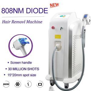 800W Permanent 808nm Hair Removal Machine Soprano Ice Platinum Laser Diode 808 hair reduction skin rejuvenation laser machine FDA
