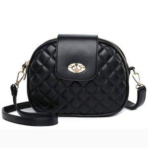 ACELURE черный искусственная кожа женщины небольшой плечо Crossbody сумка мини плед сумка дамы твердые лоскут мода девушка клатч кошелек