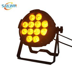 Sıcak satış ucuz fiyat DJ İnce Par 6in1 RGBWAUV 12x18w LED Düz Par Işık