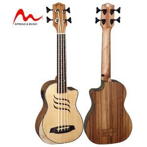 30 pulgadas OEM de alta final sólido abeto ukulele excelente tono BS-2XD / NM