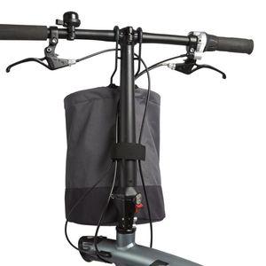 Оптовая Продажа-Складная Складная Велосипедная Корзина Серый Цвет