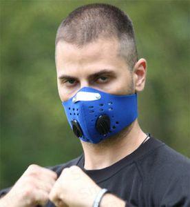 Máscara facial de Ciclismo Anit-Fog com filtro PM2. 5