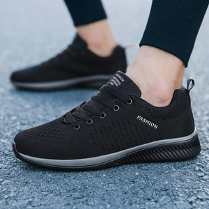 Weweya 2019 Hommes Chaussures Casual Homme maille respirante Baskets mode Homme Oxford Mocassins Retro Lace Up Homme Formateurs Tenis Masculino