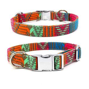 Collari personale l'animale domestico Dog Tag collare personalizzabile Puppy Targhetta regolabile ID Collari animali accessori 28 Design WZW-YW3903