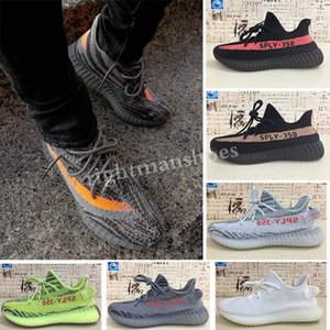 Zebra men shoes Yellow 35 v2 Boots casual shoes 35 Boots V2 for women man Kanye West casual shoes TJ04