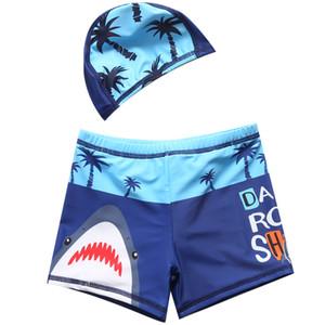2020 Meninos sunga 2-11 de Anos Crianças Swimwear Crianças Boy Calção Imprimir desgaste da praia Meninos Swimming Shorts