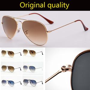 Top Qualität RAY Gradient G15 Glaslinsen apilot 3025 58mm Sonnenbrille Luftfahrt Pilot Sonnenbrille für Männer Frauen oraginal Zubehör!