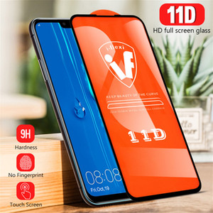 11D Полное Покрытие Клей Закаленное Стекло Для Huawei Mate 30 Lite P30 Lite Y9 Prime 2019 Psmart 2019 Y7 Prime 2019 Honor 20 Pro Защитная пленка для экрана