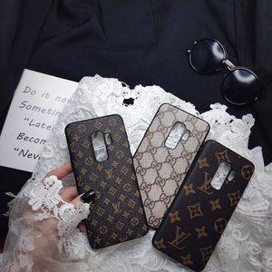 Роскошные дизайнерские чехлы для телефонов Samsung Galaxy S20 S20PLUS S20ULTRA S8 S9 S10 Plus Note9 Note10 NOTE8Cover Case мягкая кожа TPU чехол для телефона