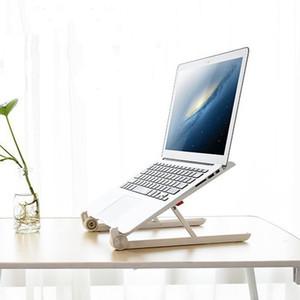 elenxs Portable Adjustable Folding Laptop Notebook Desk Stand Holder Natural Heat Dissipation Mounts Nylon