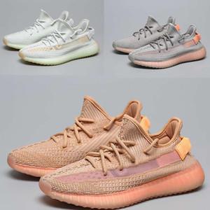 YENİ ayakkabı tasarımcısı statik krem beyaz hamile kadınlara erkek ve kadın spor ayakkabısı Açık koşu ayakkabıları için mavi renk spor ayakkabıları v2 size36-46
