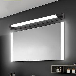 New LED Mirror Light 46-66cm 7W / 14W AC110-240V Lampe de mur acrylique cosmétique moderne imperméable pour la lumière de salle de bain LLFA