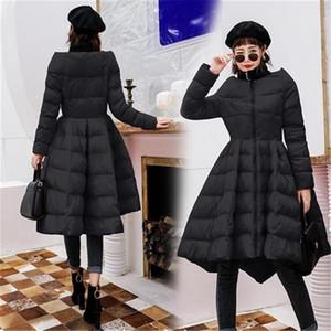 Vêtements de luxe en coton vêtements femmes veste d'hiver nouveau manteau moelleux à la mode manches longues manches de coton chaudes manteaux dames manteaux