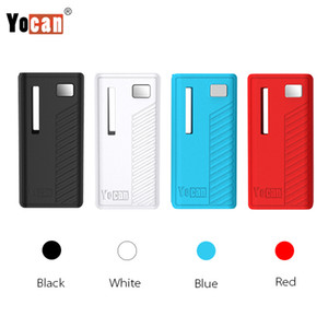 Authentique Yocan Rega Batterie Vape Mods E Cigarette Batterie 320mAh Préchauffer VV Boîte Mod Avec Fenêtre Latérale Super Portable 100% Original