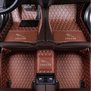 Jaguar-E-Pace F-Pace F-Type XE XF XFR XFR-S XJ XJR XK XKR XKR-S tapis de sol de voiture
