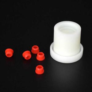 Alignement plastique Jig pic V1 V2 Coil Repair Giveaway 5 pcs gratuite silicone rouge Grommet Accessoires Atomiseur Kit Vaporizer Reconstruire