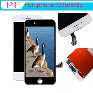 High Brigtness For iPhone 8 8 Plus LCD Display 3D Touch Screen Digitizer Assembly LCD Replacement NO Dead No Dead Pixels