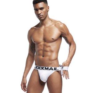 JOCKMAIL New Sexy men underwear Briefs Mesh Breathable Man Underpants slip hombre men bikini Male Panties calzoncillos