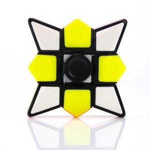 DHL Fidget Spinner Cubes Spinning Magic Cube EDC Rotation anti-stress Fidget Spinners Décompression Nouveauté Jouets pour enfants avec boîte de vente