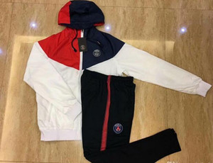 Jordam X veste psg survêtement de football 2019 chandail à capuchon psg Surve Tement 18 sweat à capuche Mbappe CAVANI DANI ALVES Paris formation veste de football
