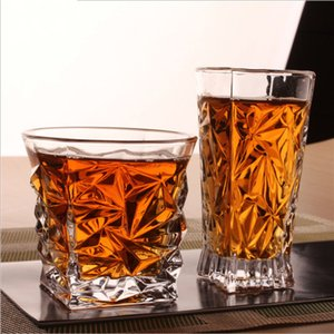 1PC Glass Wine Tumbler Whiskey Glassware Portsble Wine Cup Cocktail Glass Champagne Glasses